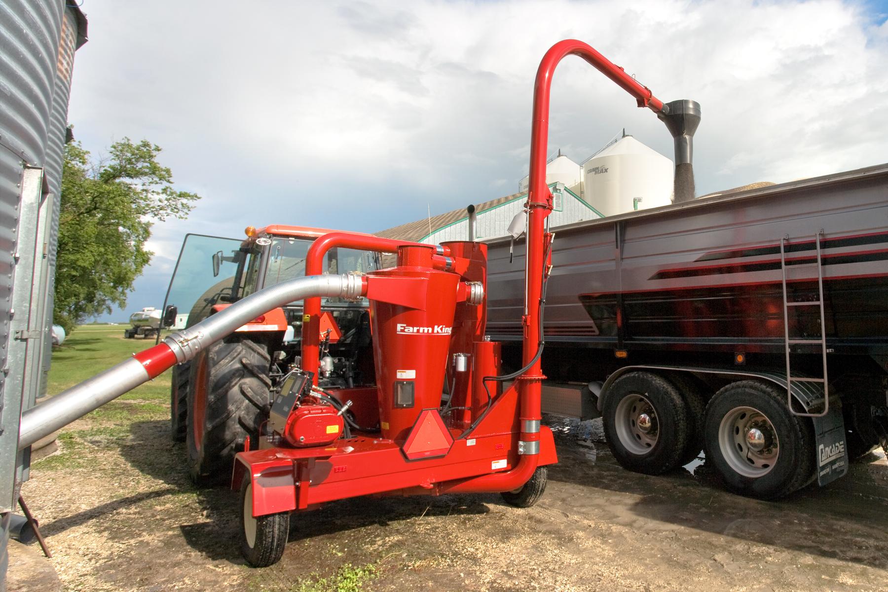 Buhler Farm King Grain Vac – Linndale